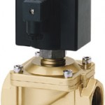 Direct acting solenoid valves