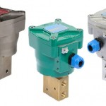 High flow solenoid valves