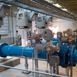 Ball valves water treatment plant