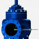 Flow metering valve for reservoir filling application