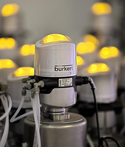 Burkert Valve Controller