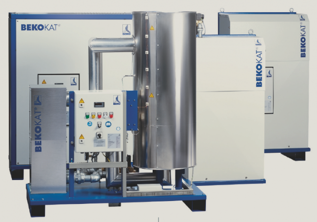 Oil free compressed air system