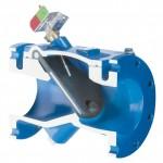 Swingflex resilient hinge check valve
