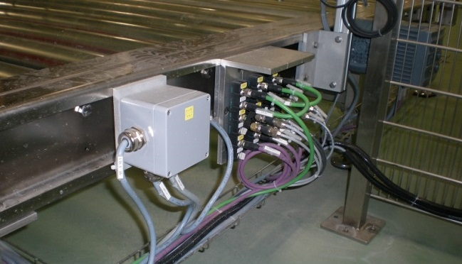 Fieldbus IO system in food and beverage application