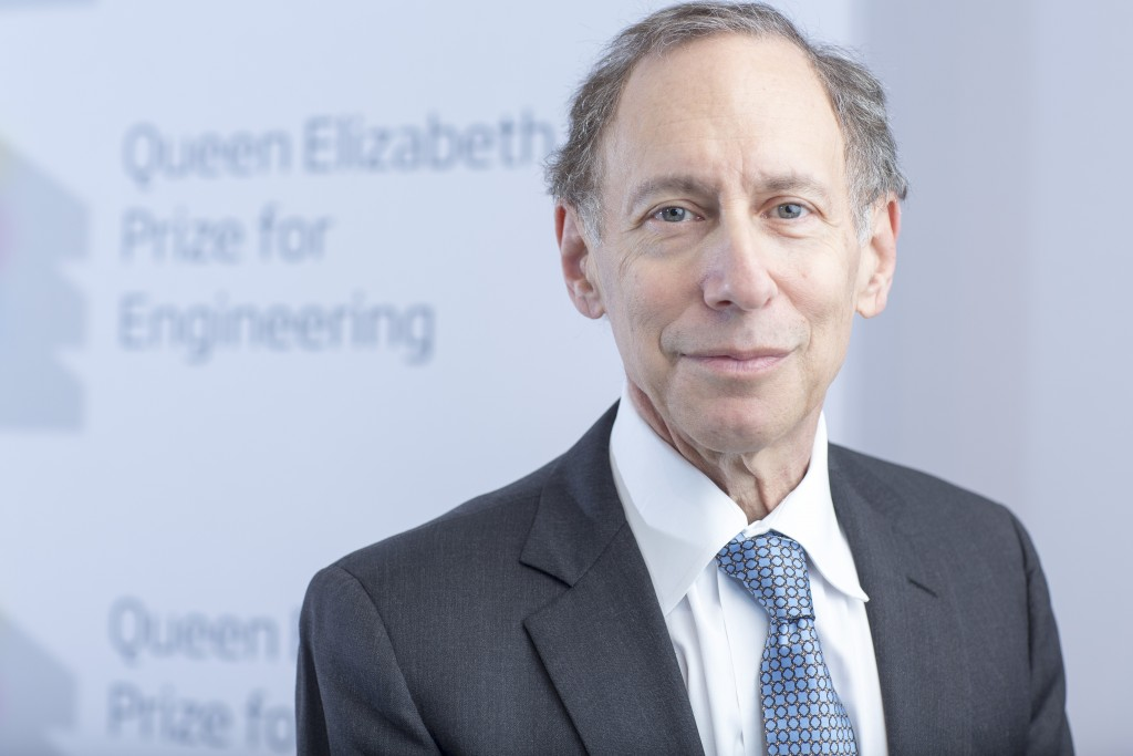 Dr Robert Langer the winner of The Queen Elizabeth Prize for Engineering