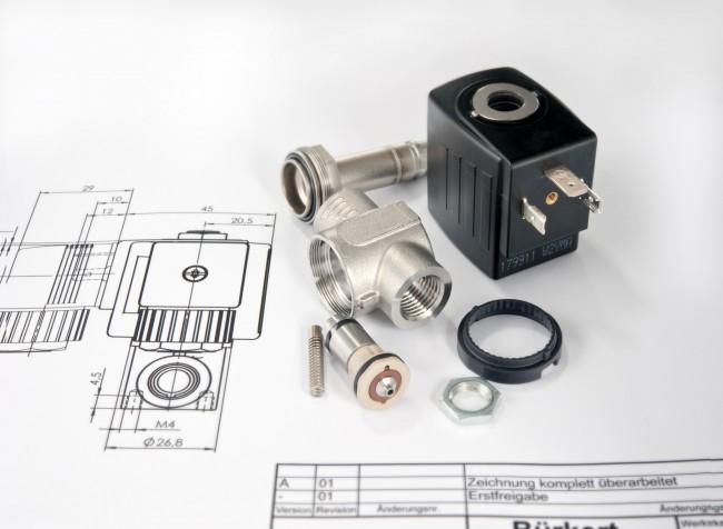 Solenoid valve design