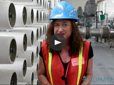 This is a video looking at the world's largest treatment plant from the Guardian