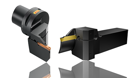 CoroCut1-2 is a patented spring clamping system