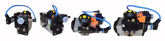Burkert NAMUR valve
