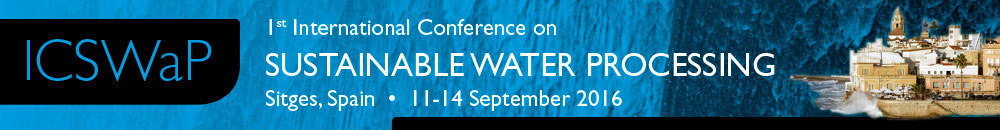 1st International Conference on Sustainable Water Processing