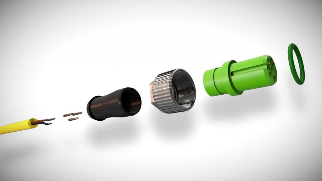 Murrelektronik's IP67 connector sets
