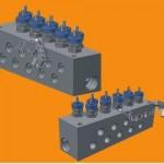 Parker Hi-Pro Distribution Manifold