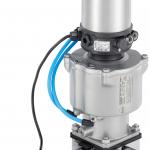 Sanitary control valves