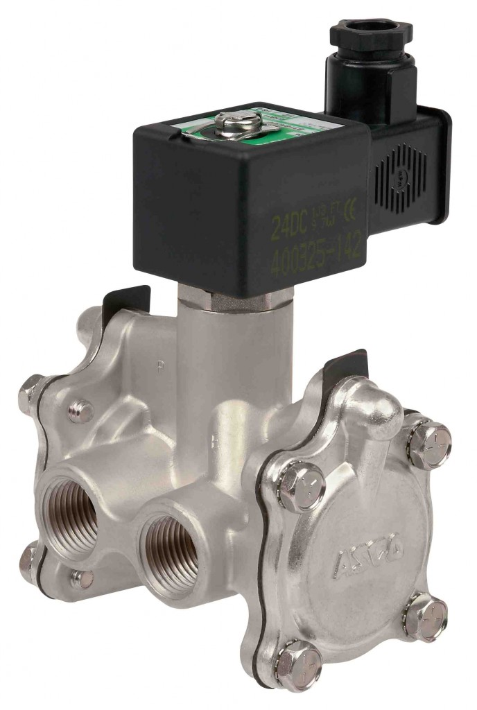 327 series low power soelnoid valve