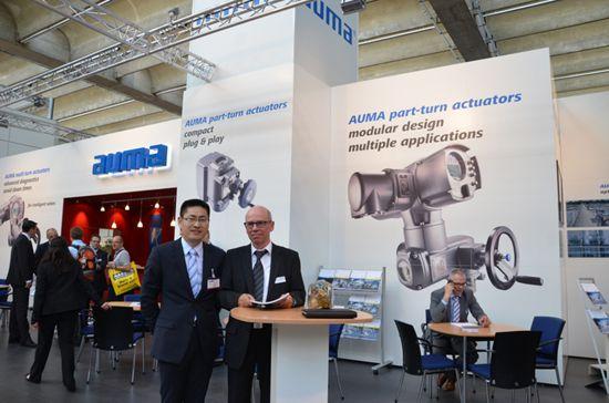 AUMA introduces new part-return electric actuator