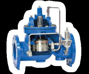 Anti-cavitation control valve