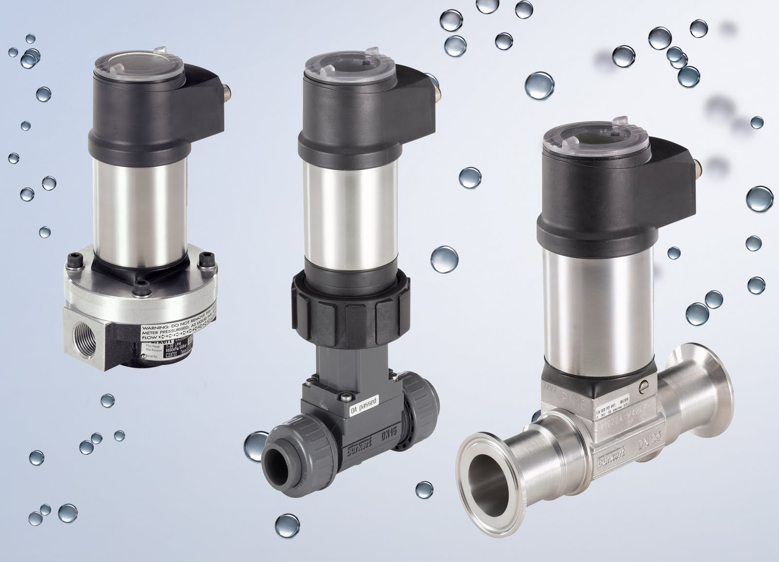 Burkert ELEMENT range of process valves