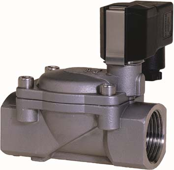 Buschjost pressure operated valve