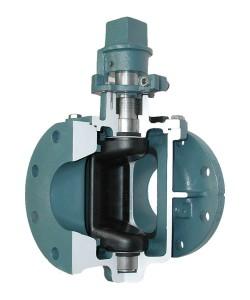 Glass lined plug valve