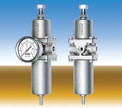 High flow filter regulators