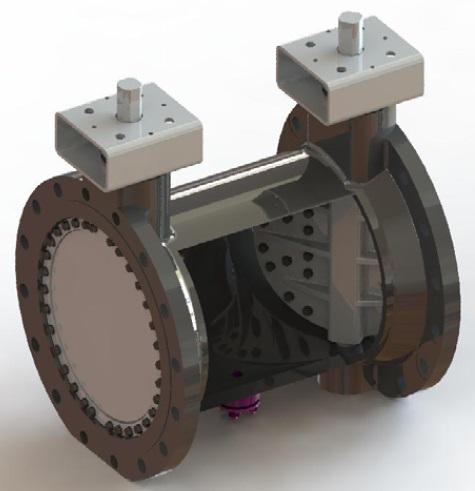 Hobbs Triple offset DBB valve