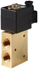 Low power solenoid valve