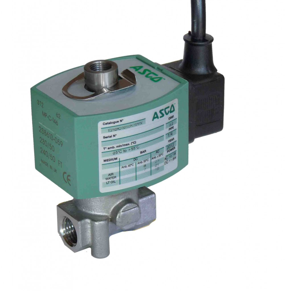 Low power solenoid valves