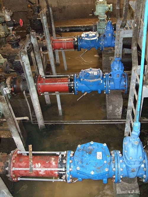 Swing check valve pumping application