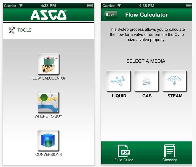 ASCO Numatics app