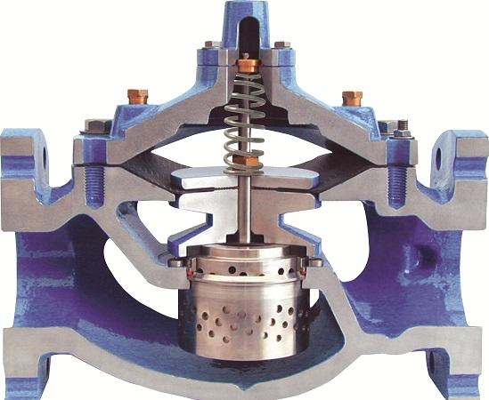 Control valve with anti-cavitation trim