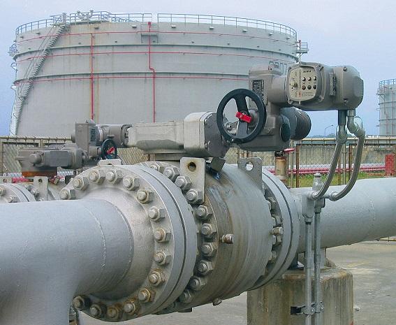 Electric actuators multiple orientation