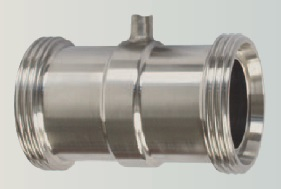 Inline diaphragm seal