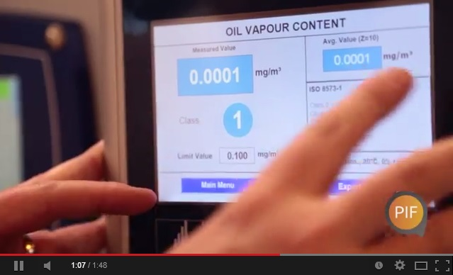 BEKO Technologies compressed air demonstration