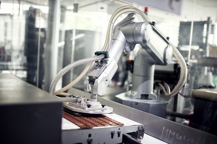 Robotics used in manufacturing