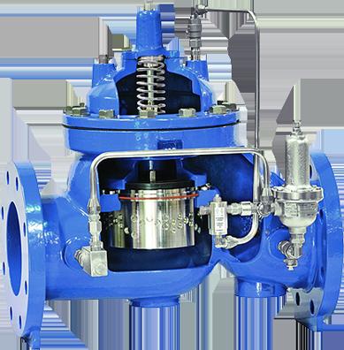 Control valve maintenance