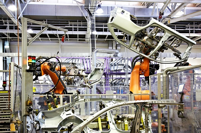 robots in automotive industry