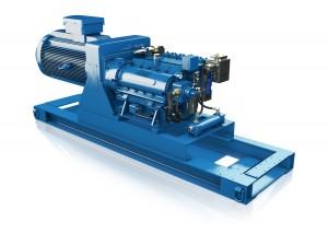 High pressure reciprocating pumps