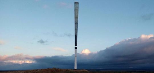 Vortex Bladeless develops a Wind Turbine without Blades