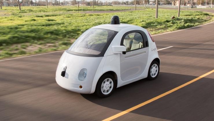Google's autonomous cars