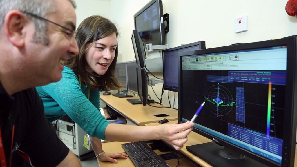 Female engineering apprentices