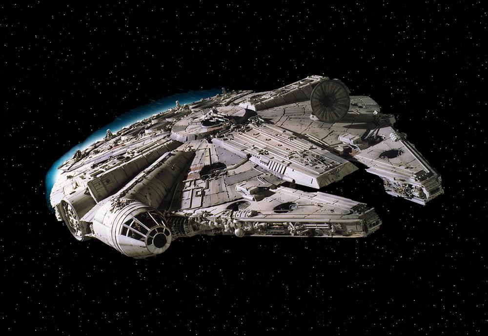Millennium Falcon engineering