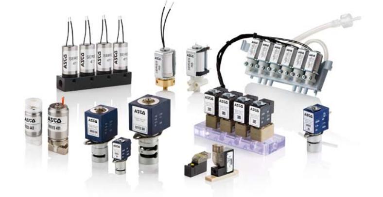 Miniature solenoid valves guide