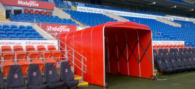 Football tunnels for rent