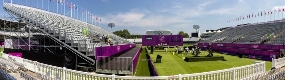 Temporary olympic structures