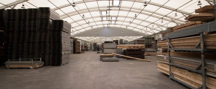 Curved Roof Warehouse Solutions