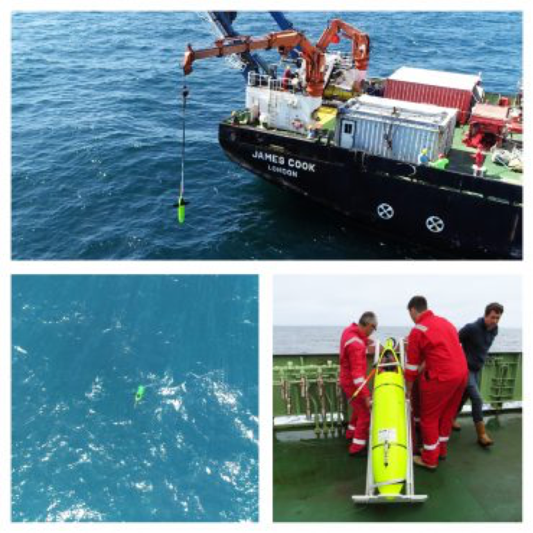 marine robot trialled with national oceanography centre