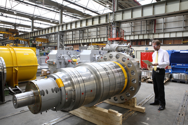 offshore pump equipment with sulzer