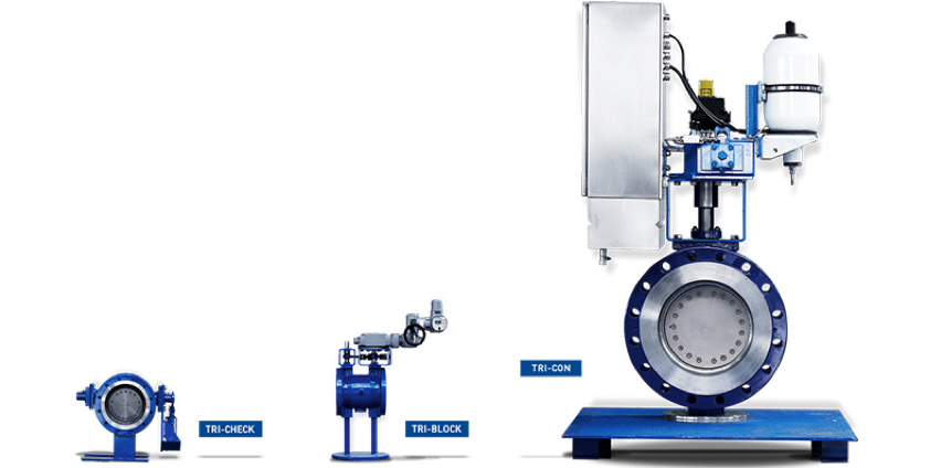 Triple offset butterfly valves from BM Engineering