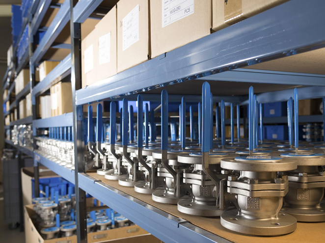 £1m Bürkert stock-holding of process control components