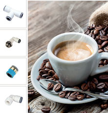 Division of Parker Hannifin launches LIQUIfit 150°C for Coffee Machines and hot beverages dispensers